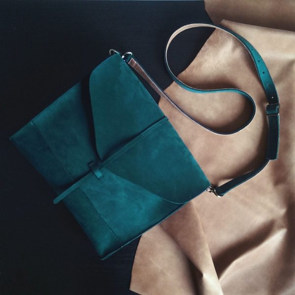 Изумрудная сумка Libra