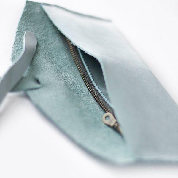 Голубой кошелек Antela