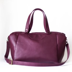 Сливовая сумка Amela