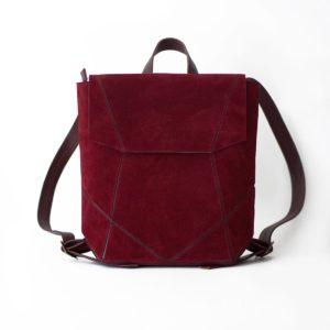 Бордовый рюкзак Geomi