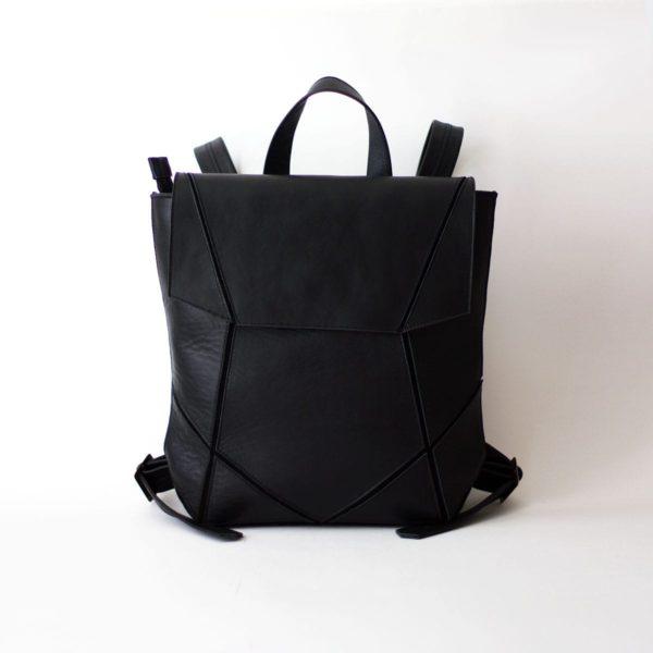 Черный рюкзак Geomi