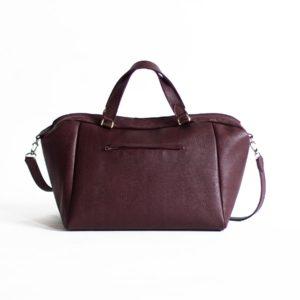 Вишневая сумка Amela