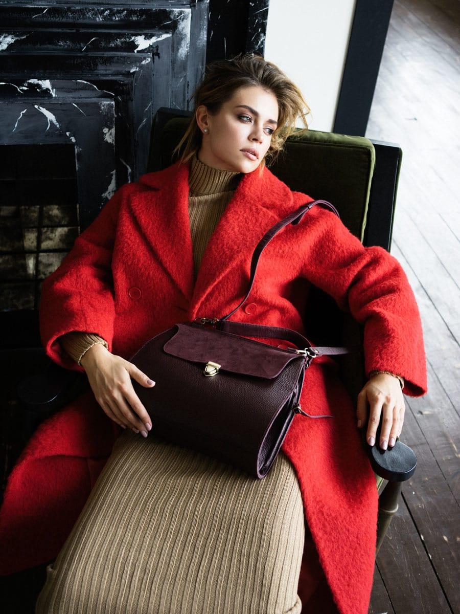 Обзор осенних тенденций в съемке лукбука новой сумки Mino