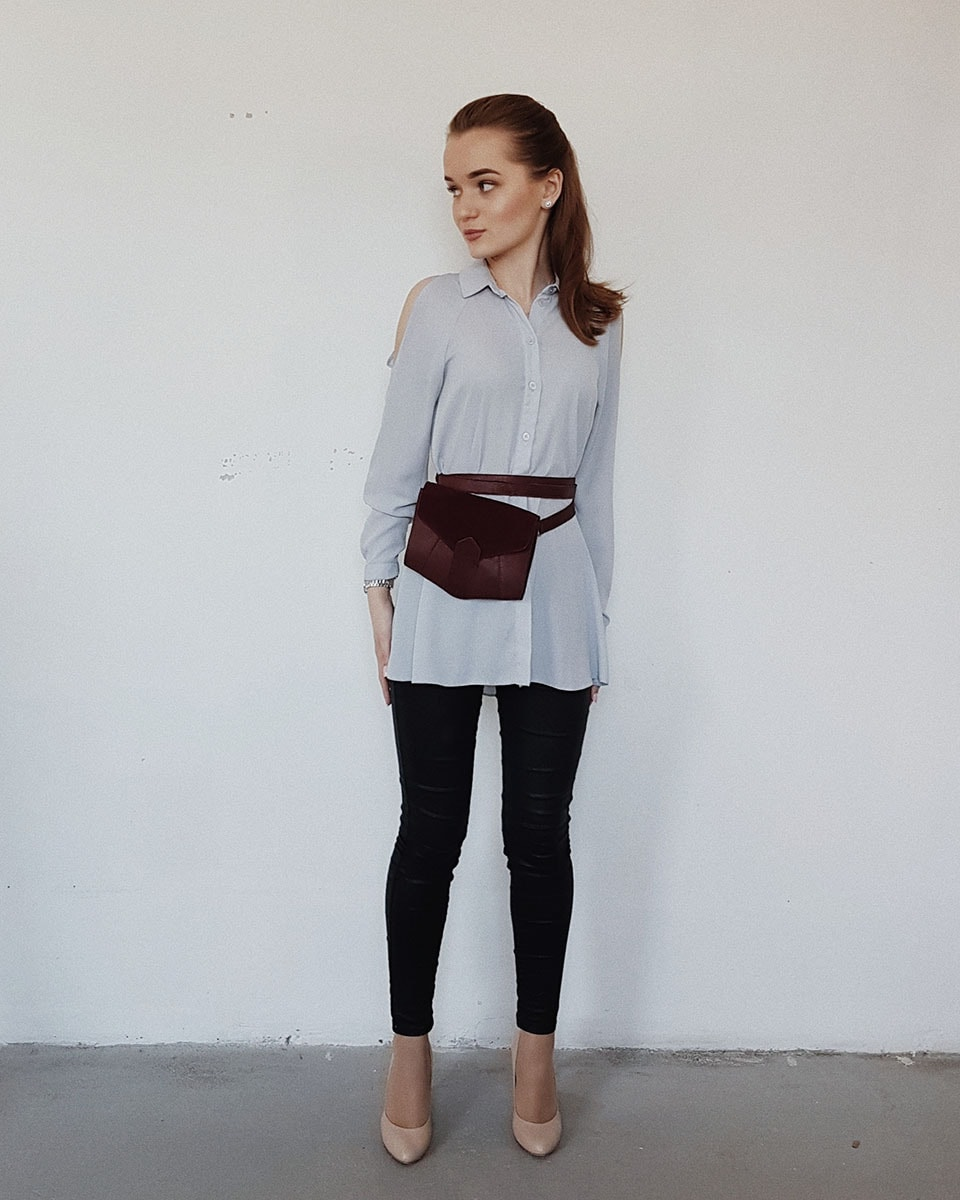 Женская поясная сумка — модный тренд лета 2018