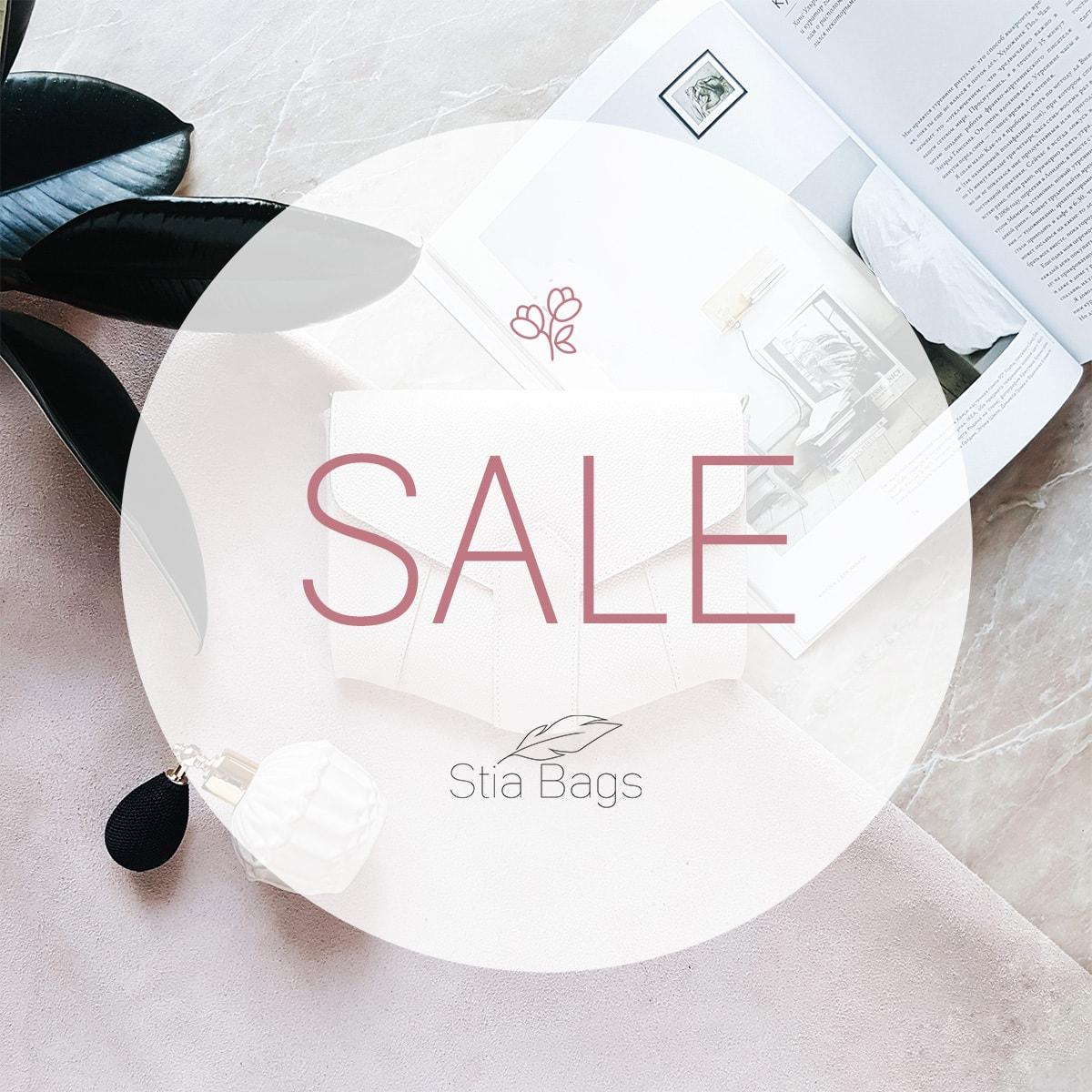 Летняя распродажа Stia Bags 4-10 июня, скидки до 50%!