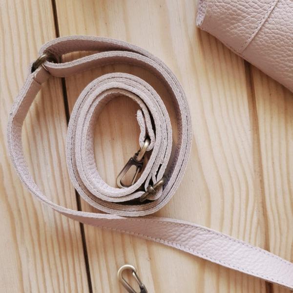 Поясная сумка Frela комби пудрово-розовая