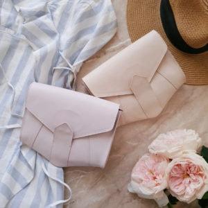 Поясная сумка Frela нежно-розовый краст