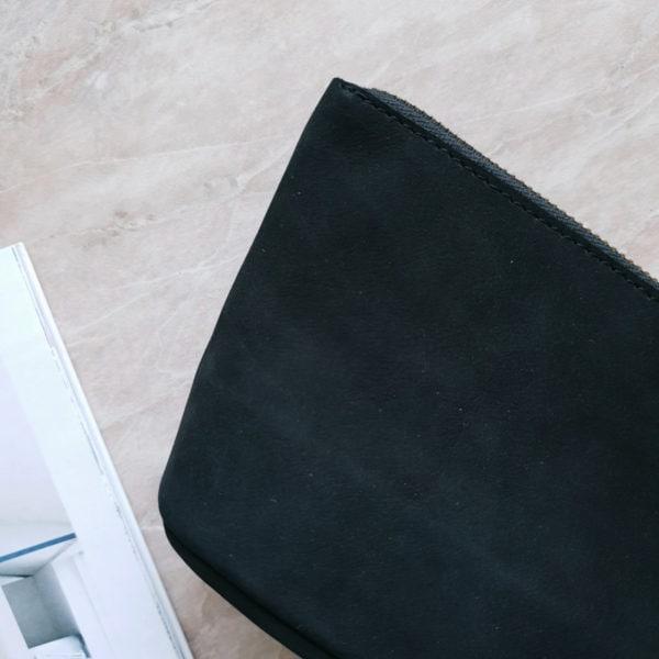 Косметичка Verdy черный нубук