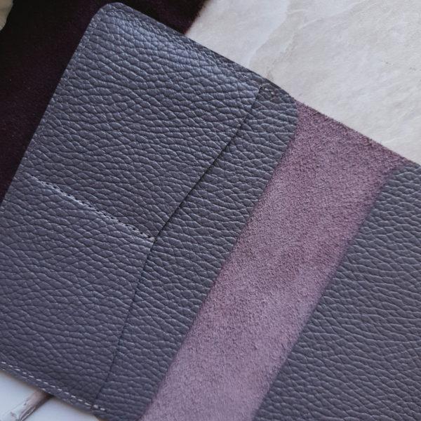 Органайзер Loge пыльно-фиолетовая зернистая кожа