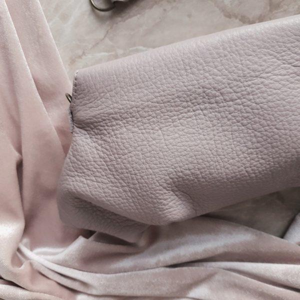 Клатч Pati фактурная кожа нежная сирень