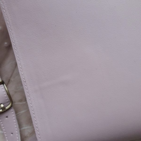 RamitaMini на молнии нежно-сиреневая гладкая кожа