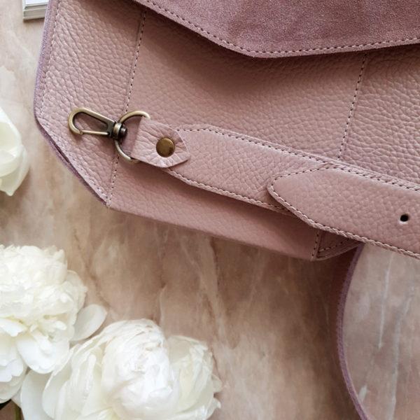 Сумка Diame комби лавандово-розовая