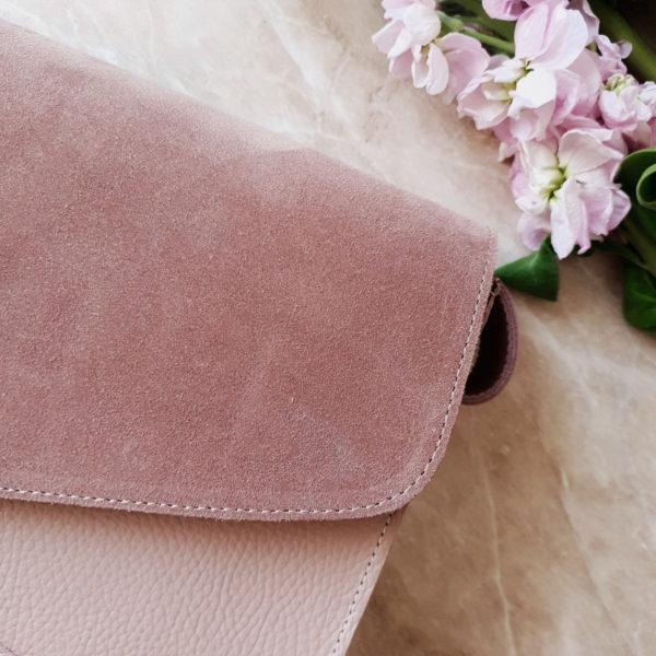 Сумка Delany комби лавандово-розовая