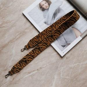 Съемный декоративный ремень 80см яркая зебра
