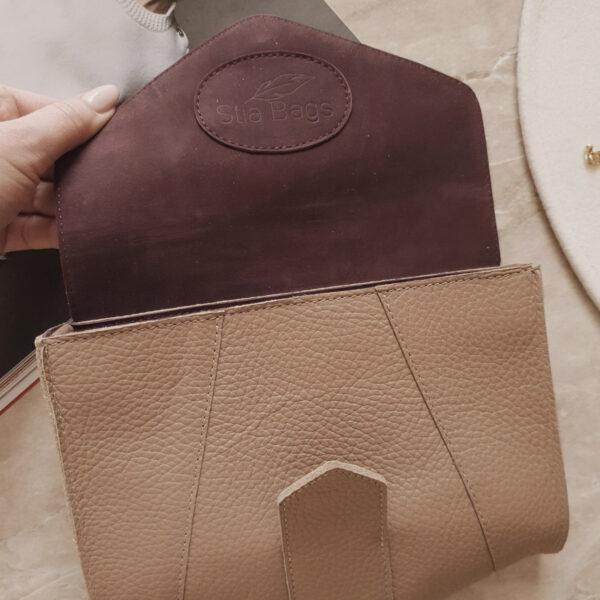 Поясная сумка Frela кожа нюд