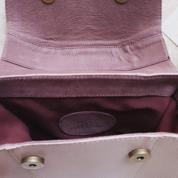 Diame комби лавандово-розовая