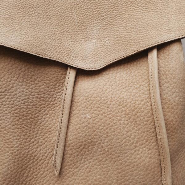 Рюкзак Gemini мягкой формы в бежевом нубуке