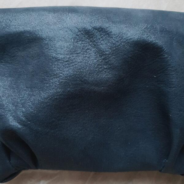 Клатч Pati синяя сияющая кожа